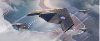 飞机机翼像拼图游戏一样组装 可以变形为任何形状
