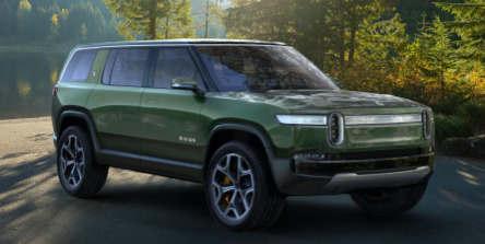 这是Rivian的新型电动七座SUV