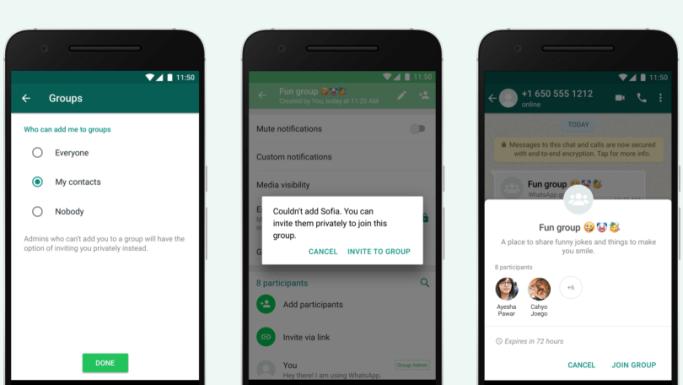 如何阻止人们将您添加到随机的WhatsApp组中