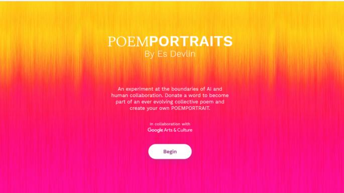 给Google的AI一个单词,它将为您写诗