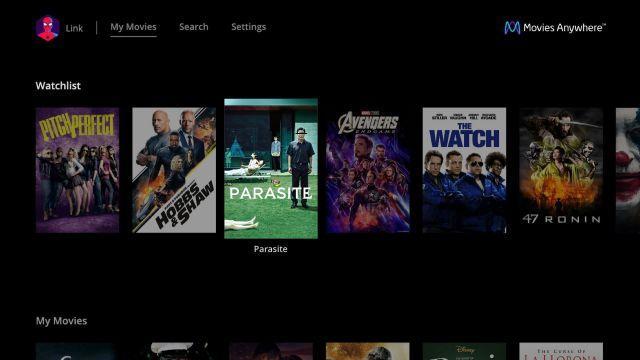 LG电视添加了Movies Anywhere应用