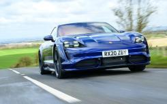 保时捷Taycan Turbo评测 首次英国测试