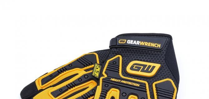 GEARWRENCH的新型重型冲击工作手套