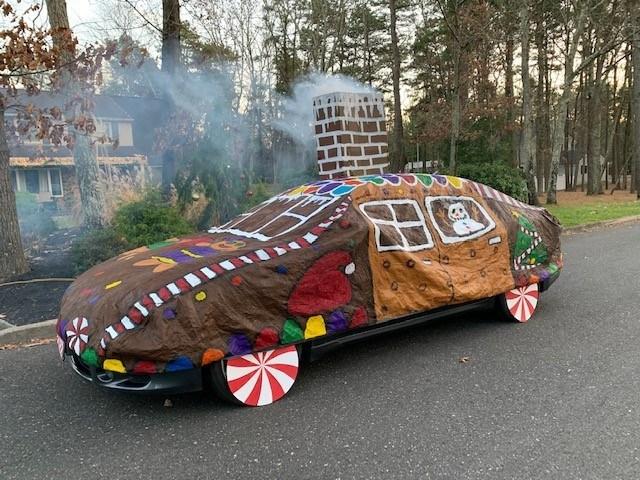 圣诞树和姜饼屋并不是这个假期装饰的唯一对象