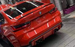 最新的宝马M3运动型轿车将变得更加清晰